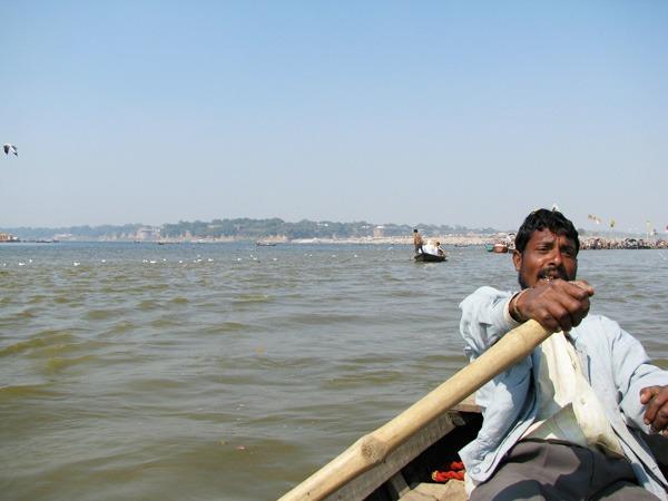 rowing-to-sangam
