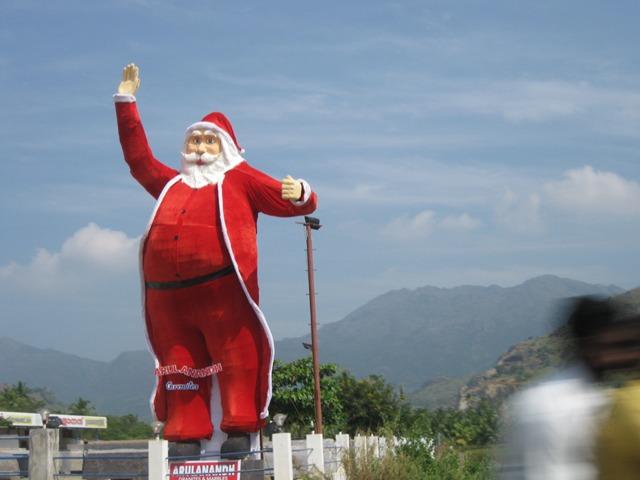 South India Santa Claus
