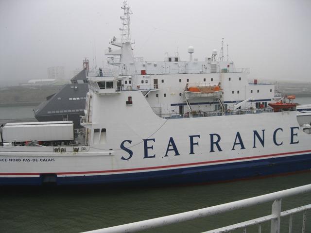 Sea France Ferry, Calais, France