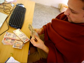 counting-Indian-rupee-money
