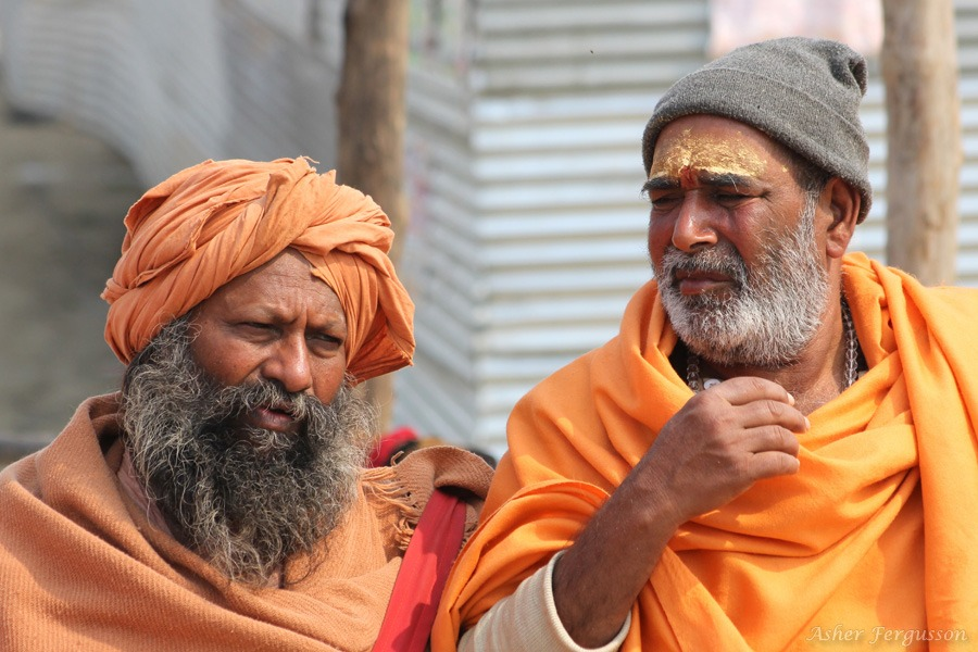 Sadhus in India