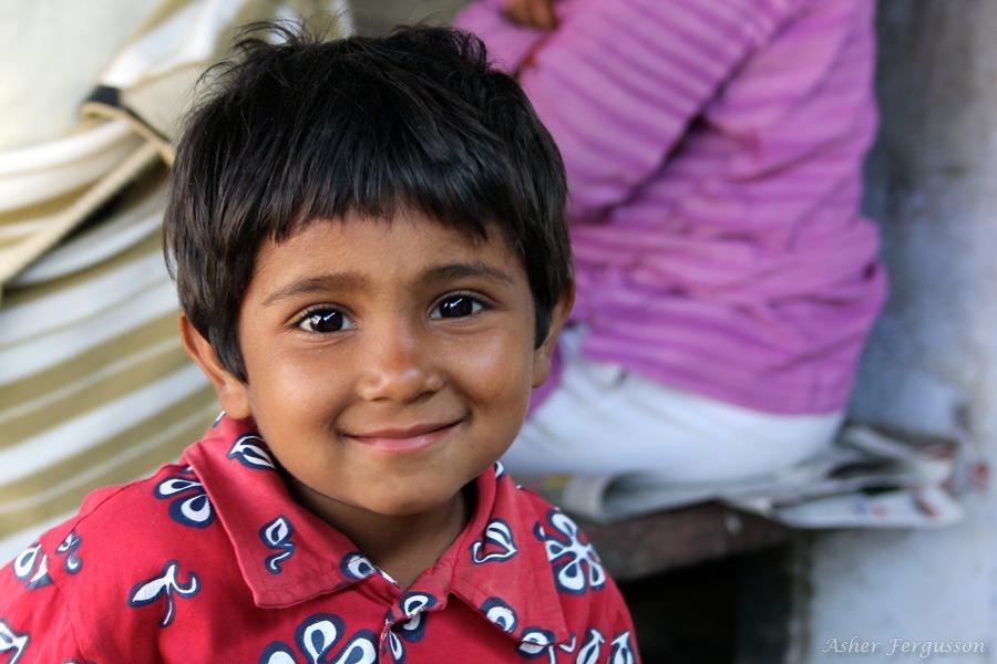 Cute little Indian girl