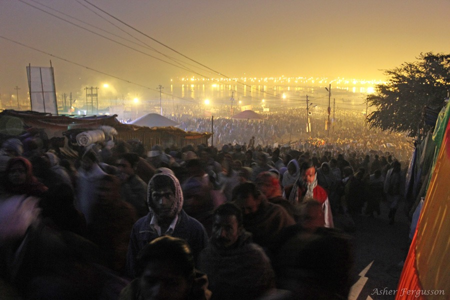 Millions At the Kumbha Mela