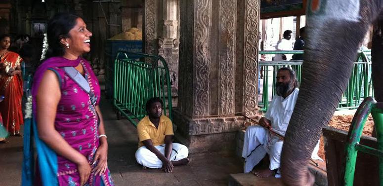 lady-with-elephant-india