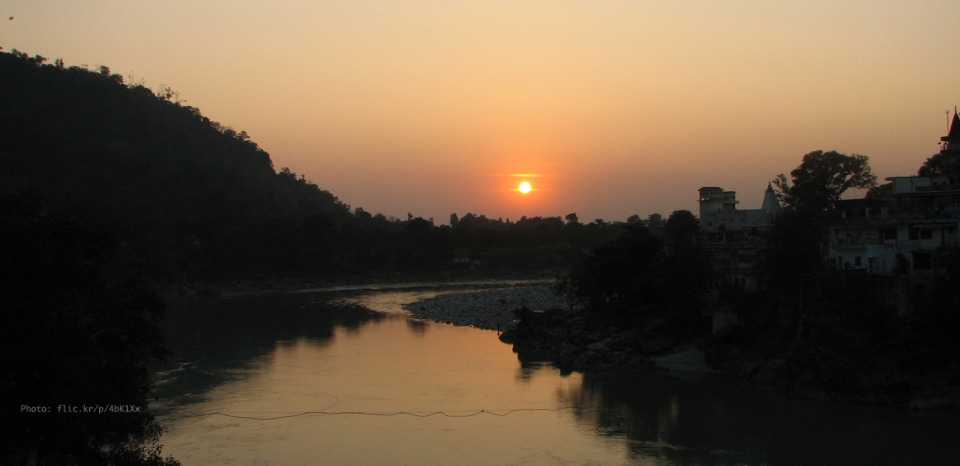 rishikesh-sunset