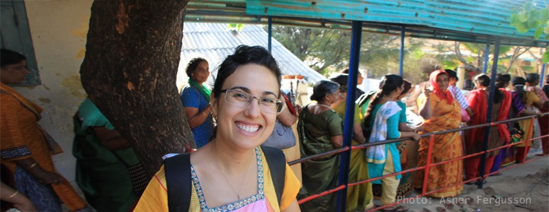 standing-in-line-in-India