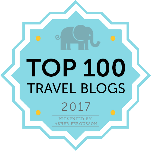 Top 100 travel blogs 2017