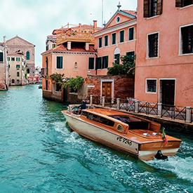 Italian boat venice