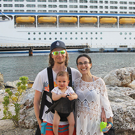 fergusson family on a cruise