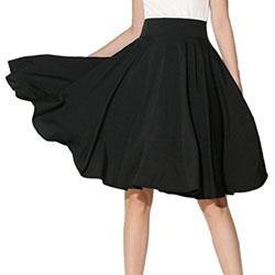 Choies-Womens-Waist-Skater-Skirt