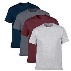Classic-T-shirt-Sleeve-Cotton-Heather