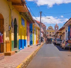 nicaraguan town