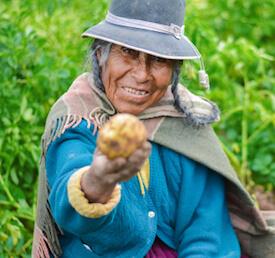 South American Woman
