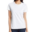 women's white t-shirt