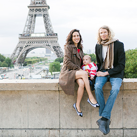 fergusson family on a luxury Paris vacation