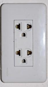Thai wall socket