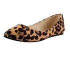 leopard print comfortable flats