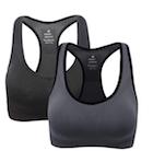 gray sports bra
