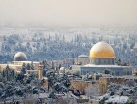 winter in Jerusalem