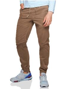 Guy wearing brown pants