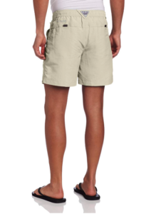 Guy wearing shorts