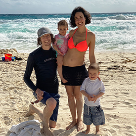 fergusson family in cancun