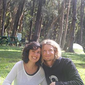 asher and lyric camping