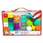 Playtime with Blocks & Balls