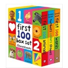Learn First Words with Board Book Set