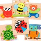 Practice Spatial Awareness with Wooden Puzzles