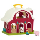 Play Pretend with a Toy Barn