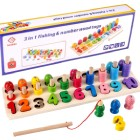 Number Counting Fishing Puzzle