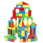 Practice Stacking with Wooden Blocks