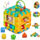 Practice Fine Motor Skills with an Activity Cube