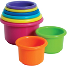 Learn Spatial Awareness with Stacking Cups