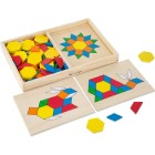 Make patterns with Shapes