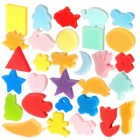 Paint with Fun Shaped Sponges