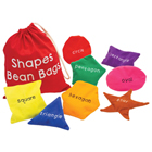Learn with Bean Bag Shapes