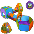 Explore Imaginative Play with a Tunnel & Ball Pit