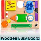 Practice Fine-Motor Skills with a Montessori Busy Board