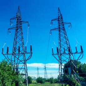 Italy power line