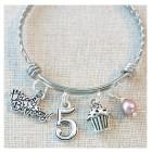 Birthday Bangle Bracelet