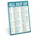 Grocery Checklist Pad