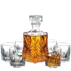 Italian Crafted Glass Decanter