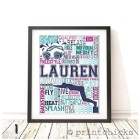 Personalized Wall Print