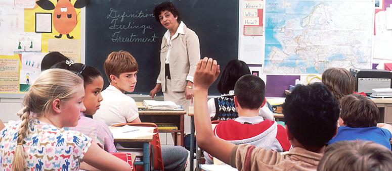 classroom in USA