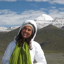Lyric Fergusson in Nepal