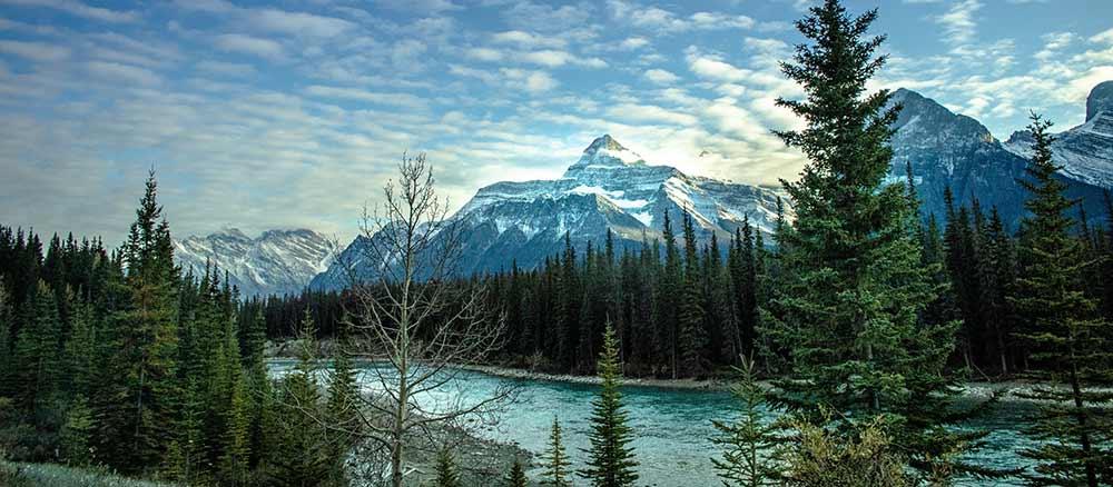 Banff Canada panorama