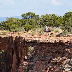 Hikers in Sedona