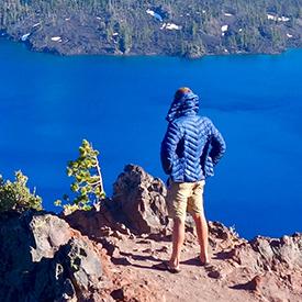 Pacific Crest Trail Hiker